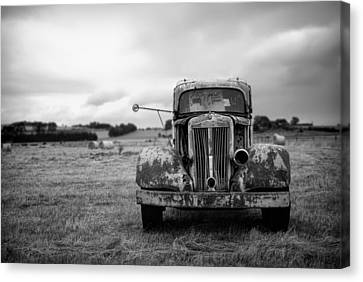 Memories Of Roads Traveled  Canvas Print by Mountain Dreams