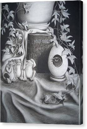 Memories Of You Canvas Print by Robin Jones
