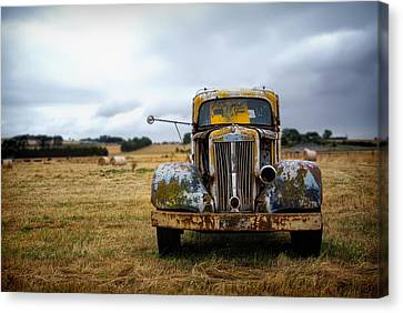 Memory Of Road Traveled Canvas Print by Mountain Dreams