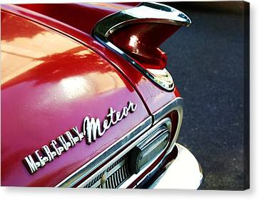 Mercury Meteor Canvas Print by Cathie Tyler