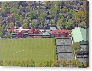 Merion Cricket Club Philadelphia Cricket Club Canvas Print by Duncan Pearson