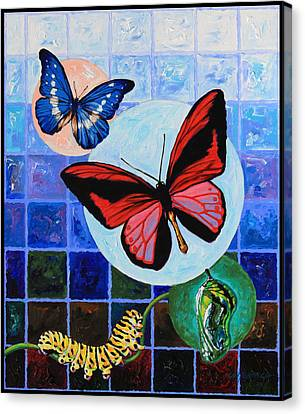 Metamorphosis Of The New Life Canvas Print by John Lautermilch