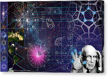 Metaphysical Gravity Canvas Print by Kenneth Armand Johnson