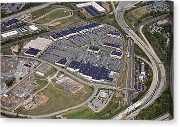 Metroplex Shopping Center Chemical Road Plymouth Meeting Pennsylvania Canvas Print by Duncan Pearson