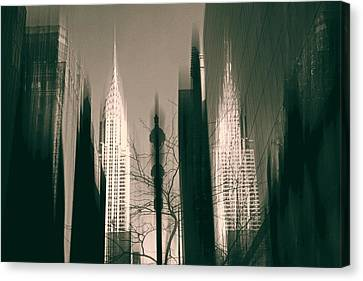 Metropolis IIl Canvas Print by Jessica Jenney