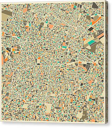 Mexico City Canvas Print by Jazzberry Blue