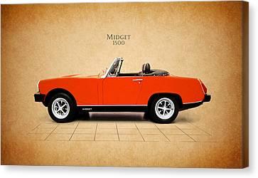 Mg Midget 1500 Canvas Print by Mark Rogan