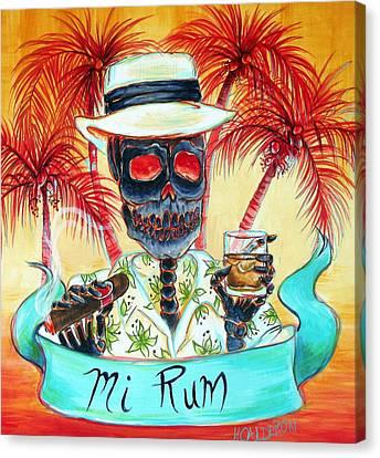 Mi Rum Canvas Print by Heather Calderon