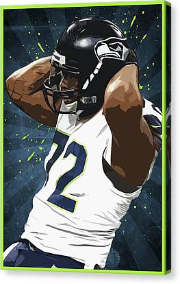 Michael Bennett Canvas Print by Semih Yurdabak
