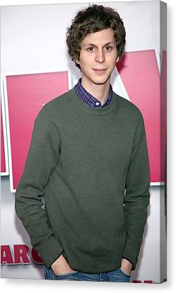 Michael Cera At Arrivals For Year One Canvas Print by Everett