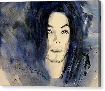 Michael Jackson - This Life Don't Last For Ever Canvas Print by Hitomi Osanai