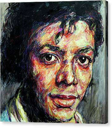 Michael Jackson Canvas Print by Mountain Dreams