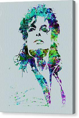 Michael Jackson Canvas Print by Naxart Studio