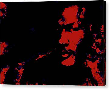 Michael Jordan 3k Canvas Print by Brian Reaves