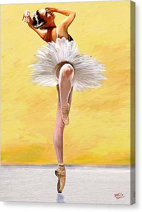 Michele Wiles Canvas Print by James Shepherd