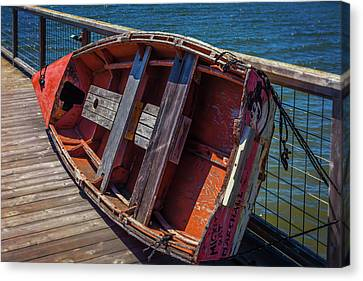 Mickey Rat Row Boat Canvas Print by Garry Gay
