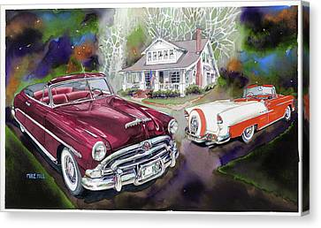 Mid Century Classics Canvas Print by Mike Hill