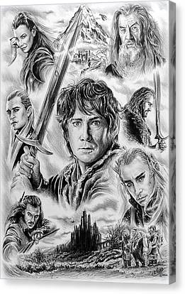 Middle Earth Canvas Print by Andrew Read