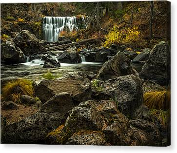 Middle Mccloud Falls Canvas Print by Michele James