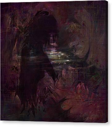 Midnight Dream Canvas Print by Rachel Christine Nowicki