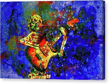 Midnight Serenade Canvas Print by Jeff Gettis