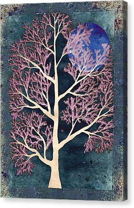 Midnight Canvas Print by Sumit Mehndiratta