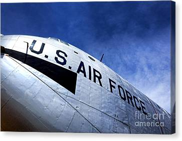 Mighty Us Air Force  Canvas Print by Olivier Le Queinec