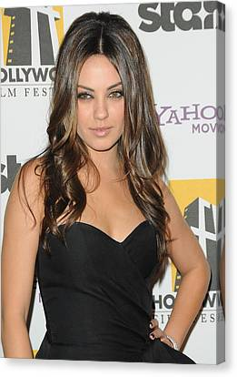 Mila Kunis At Arrivals For 14th Annual Canvas Print by Everett