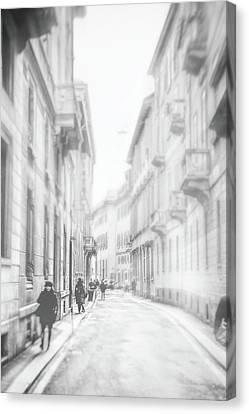 Milano Canvas Print by Okan YILMAZ