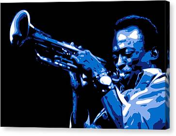 Miles Davis Canvas Print by DB Artist