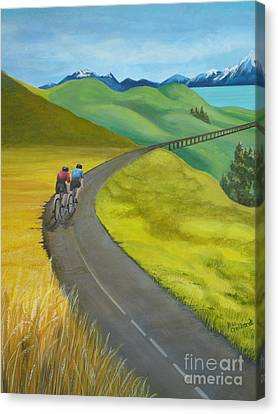 Miles To Go Canvas Print by Kris Crollard