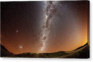Milky Way Canvas Print by (c) 2010 Luis Argerich