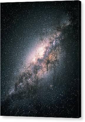 Milky Way Galaxy Canvas Print by Akira Fujii