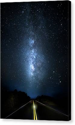Milky Way Highway Canvas Print by Mark Andrew Thomas