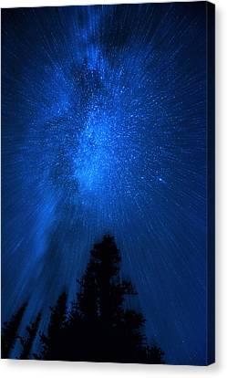 Milky Way Zoom Canvas Print by Pelo Blanco Photo