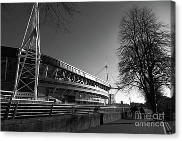 Millennium Stadium Cardiff Wales Canvas Print by James Brunker