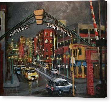 Milwaukee's Historic Third Ward Canvas Print by Tom Shropshire