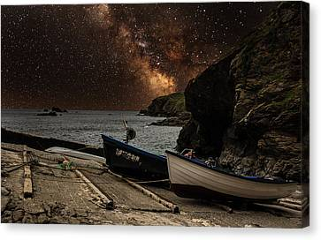 Mily Way Canvas Print by Martin Newman