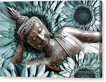 Mind Bloom Canvas Print by Christopher Beikmann