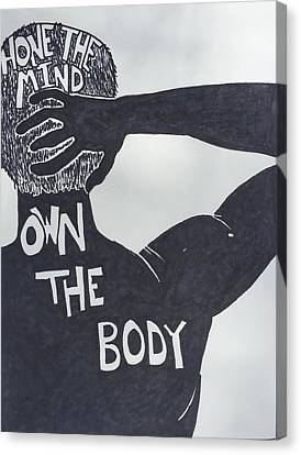 Mind/body Canvas Print by Sara Young