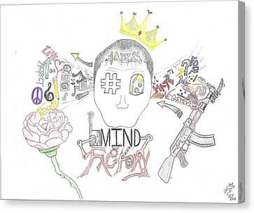 Mind Factory Canvas Print by Devrryn Jenkins