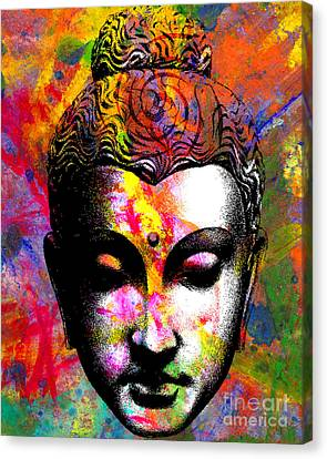 Mind Canvas Print by Ramneek Narang