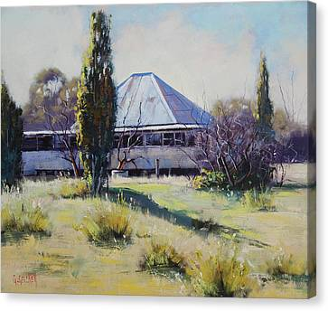 Miners Cottage Pyramul  Canvas Print by Graham Gercken