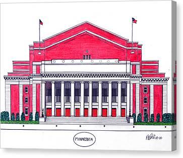 Minnesota Canvas Print by Frederic Kohli
