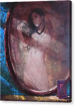 Mirror For The Sun Canvas Print by Sergey Ignatenko