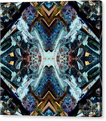 Mirrored Canvas Print by Cathleen Edick