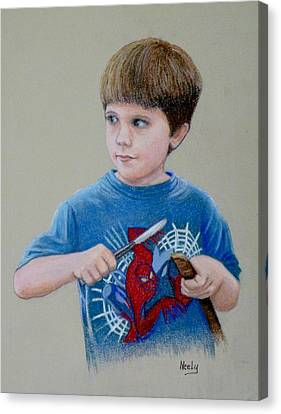 Mischief Canvas Print by Pat Neely