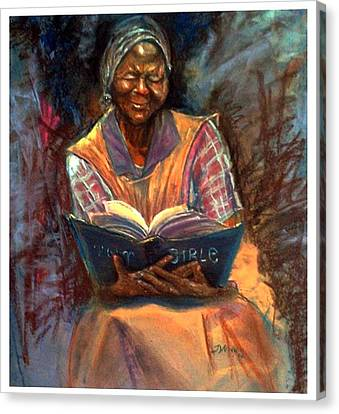 Miss Betty Canvas Print by Tommy  Winn