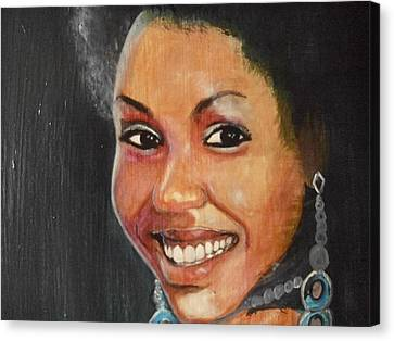 Miss Ingenuity  Canvas Print by Nixon Mwangi