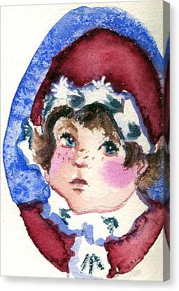 Miss Sugar Plum Canvas Print by Mindy Newman